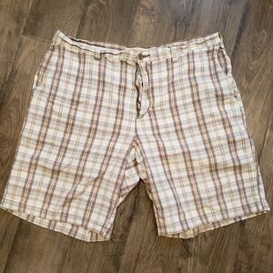 👉Perry Ellis Casual Plaid Shorts - Size 40